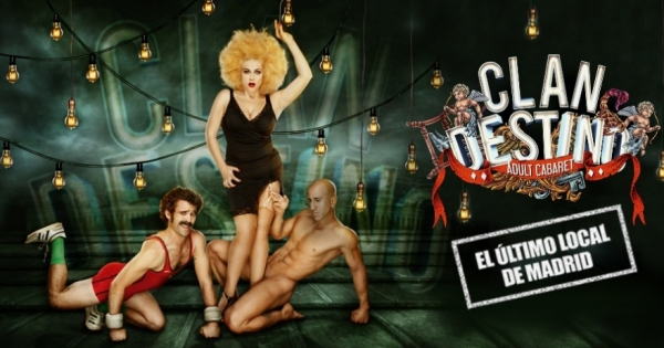 Go to event: CLANDESTINO Adult Cabaret