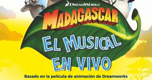 Ir al evento: MADAGASCAR El musical